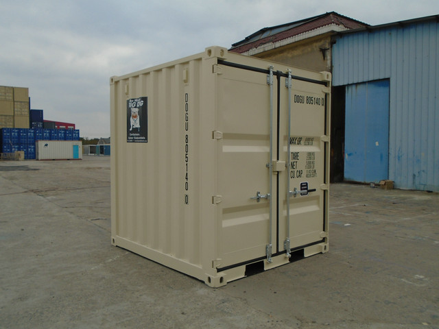8' Shipping Container - Big Dog Containers | Edmonton